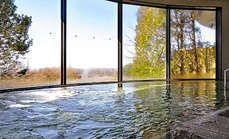 写真:大浴場